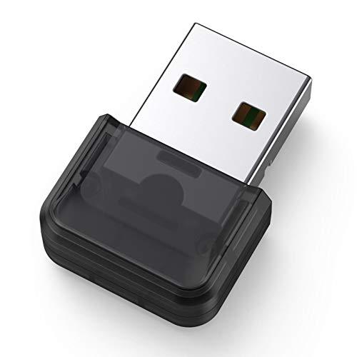 A-A Adaptador Bluetooth 5.0 USB para escritorio, portátil, impresora, auriculares, contestación, Bluetooth USB Dongle Stick para dispositivos de audio