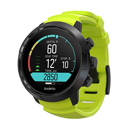 SUUNTO D5 Wrist Computer w/USB Cable (Lime Green)