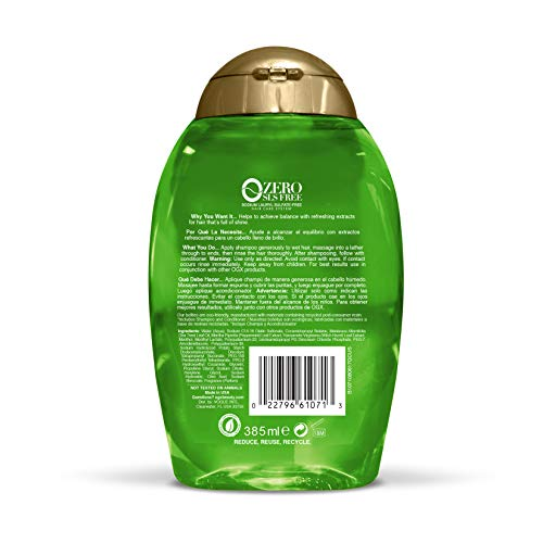 Personal Oral Care | OGX Extra Strength Refreshing Scalp + Tea Tree Mint Shampoo, 13 Ounce, Gym exercise ab workouts - shap2.com