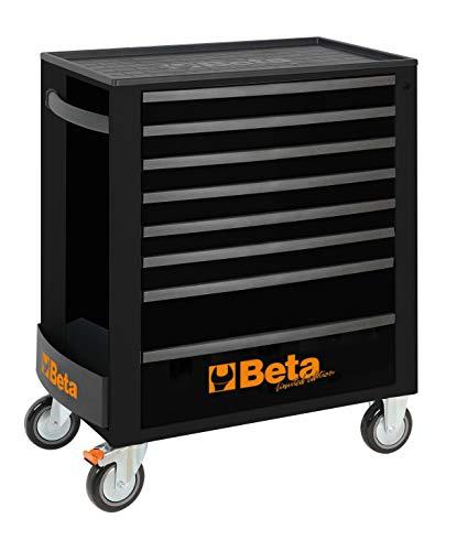 Beta C24SA Werkzeugwagen mit 8 Schubladen Black-Edition