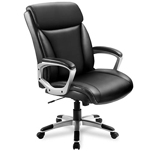 ComHoma High Back Ergonomic Office Executive Chair Now $63.74 (Was $117)