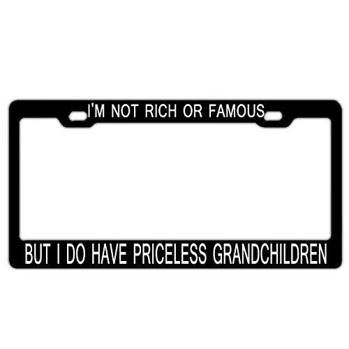 grandchildren license plate frame - 2