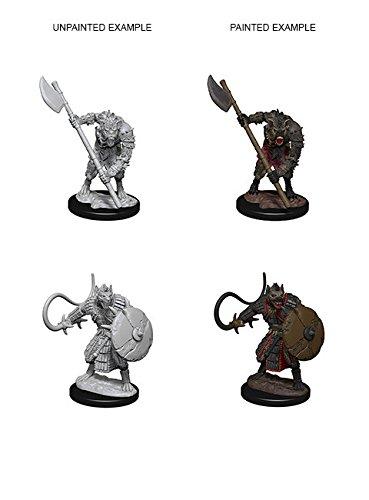 NECA Deep Cuts Unpainted Miniatures: Gnolls