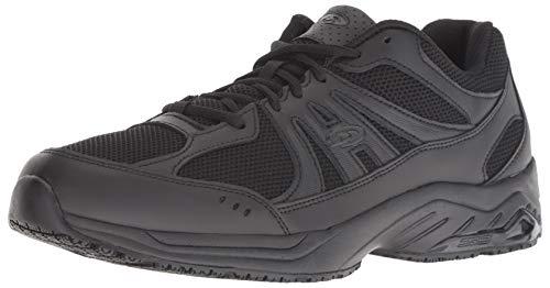 Dr. Scholl's Shoes mens Monster Sneaker, Black Leather, 10.5 US