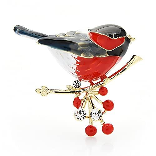Broche de pájaro Broches de esmalte de calidad