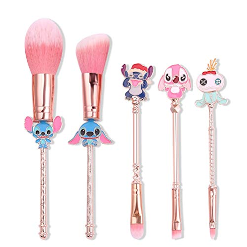 Brochas Maquillaje Stitch marca Dilla Beauty