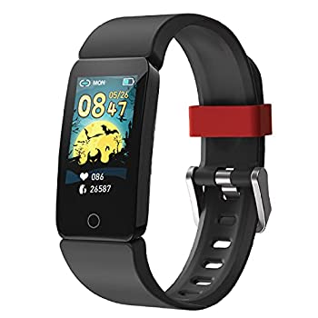 DoSmarter Fitness Tracker Watch for Kids Boys Girls Waterproof Health & Activity Tracker for Kids with Step Calories Counter Heart Rate Sleep Monitor Great Kids Gift
