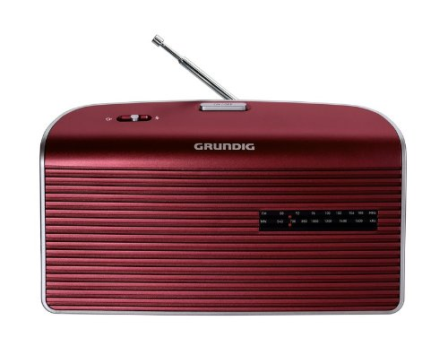 Grundig Music 60 - Radio (Personal, Analógico, Am, FM, 9 cm, 3.5 mm, 25...