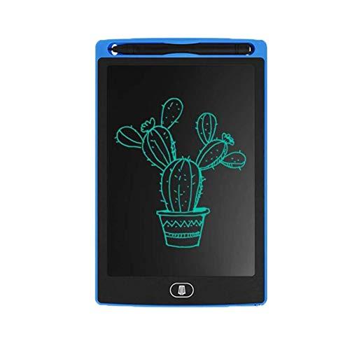 Zidao Juguetes De Caracteres, LCD Tablilla De Escritura A Mano Almohadillas Tablero De Abonado Digital De La Tableta con La Pluma Los Primeros Juguetes De Aprendizaje,Azul