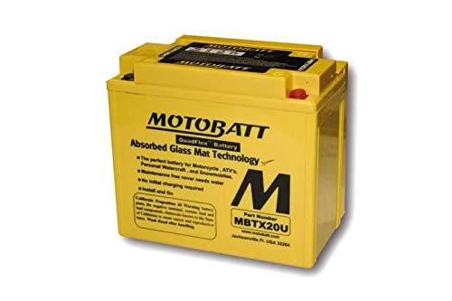 MOTOBATT Batterie MBTX20U Preis inkl. gesetzlichen Batteriepfand 7,50€ inkl. Mwst