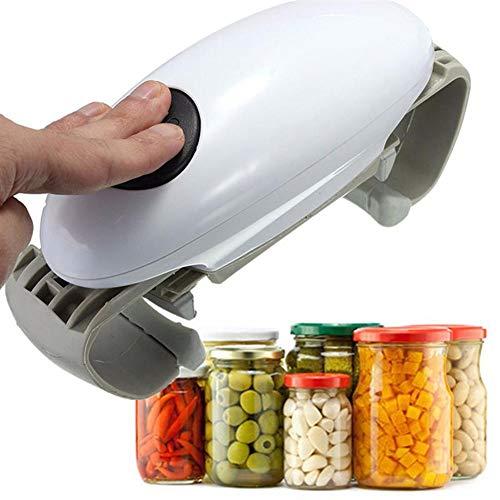 GENRIC Apriscatole Elettrici,Apriscatole Cucina,Apriscatole Ristorante,Apriscatole Automatico Portatile,Apriscatole Automatico