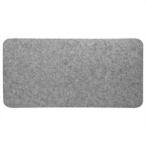 Pomya Felts Table Mouse Pads, Office Desk Dust-Proof, Anti-Static and Anti-Scratch Gaming Mouse Pad,Large Mouse Pads for Computer, Big PC Pads (Light Gray)
