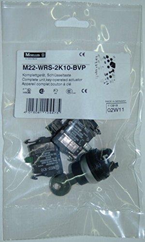 Eaton 110918 Schlüsselschalter 2 Schließer, Komplettgerät