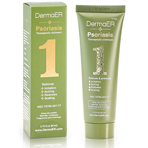 DermaER Fast-Acting Psoriasis Healing Cream Ointment | Effective Treatment with Salicylic Acid |...