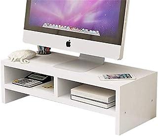 Wooden Monitor Stand,Screen Riser Monitor Riser Screen Stand Desk Attachment Screen Enhancement Desktop Organizer