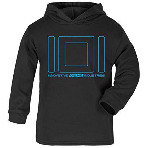 Cloud City 7 Innovatieve Online Industries Ready Player Een Baby en Kids Hooded Sweatshirt Zwart