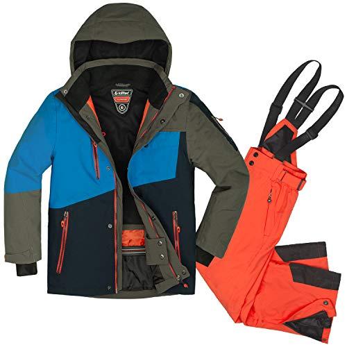 Skianzug 2 tlg. Kinder Skijacke + Skihose Gr. 176