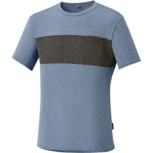 SHIMANO Maglietta Uomo Transit T-Shirt Blu Tg. L
