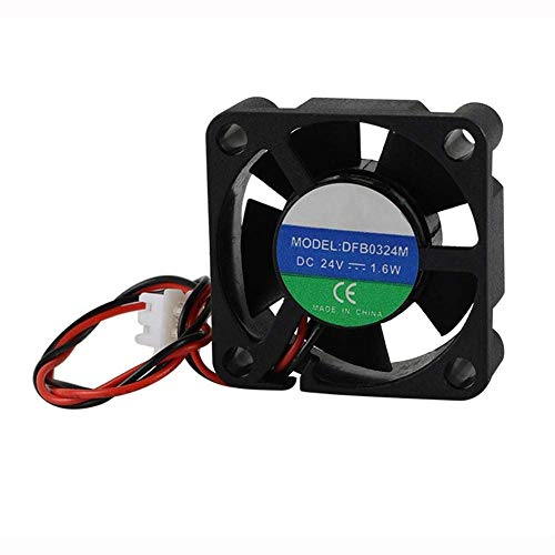 Printer Tool Computer Accessories, 24V 4PCS UM2+ 3010 Mini Heat Cooling Fan for 3D Printer