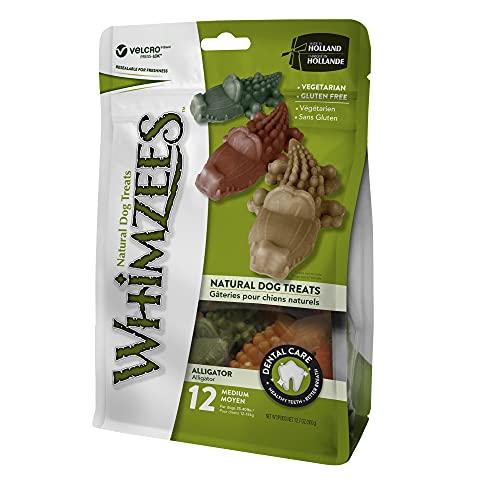 Whimzees - Sacchetto 12 Ppz Alligatore Tg M Wh320