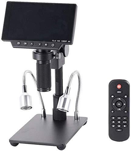 MYYYYI 1080 34MP 4K Soldadura Microscopios cámara Digital Industrial Mantenimiento 5 Pulgadas de Pantalla de visualización electrónica de la Lupa del microscopio 150X