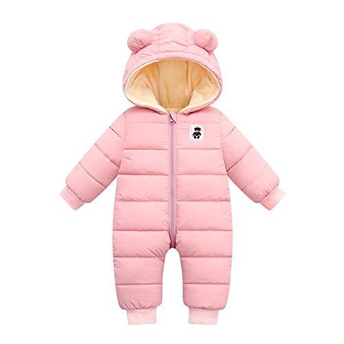 Syliababy Unisex Baby Strampler Winter Junge Mädchen Jumpsuit Einfarbige Bodysuit...