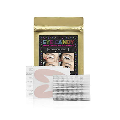 Eye Candy Eyeliner Stencil Pads - For The Perfect Winged Tip Look....
