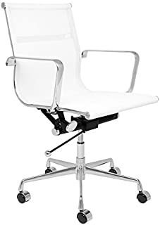SOHO Mesh Management Chair (White)