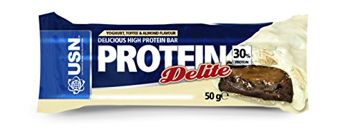 USN Protein Delite Bar, Yoghurt/ Toffee and Almond - x 50 g by USN