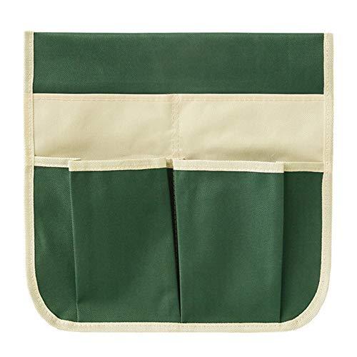 Beada Bolsa de herramientas portátil Oxford Garden Kneeler para el trabajo al aire libre para el taburete de la rodilla, kit de herramientas de jardinería, verde beige