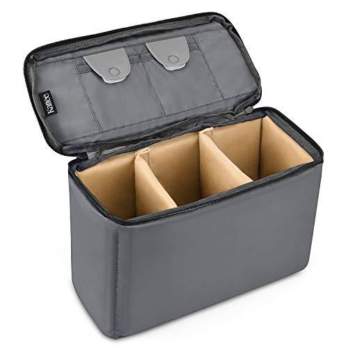 small dslr camera bag insert - 9