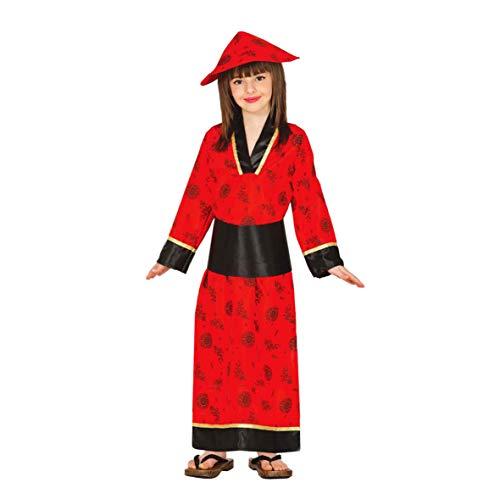 Guirca 83282 - China Roja Infantil Talla 7-9 Años