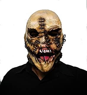 Scarecrow Scary Halloween Latex Mask.