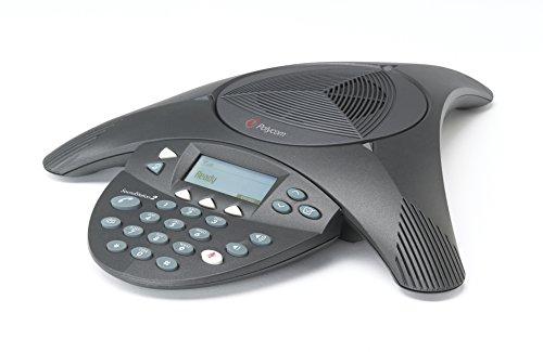 POLYCOM SoundStation 2 mit Display Konferenztelefon für analogen Anschluss (englischer Stecker)