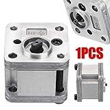 Guoz Neue 1Pcs Hydraulische Zahnradpumpe Metallzahnradpumpe Hydraulik Modell Aushub Maschinen für die Home Werkzeuge