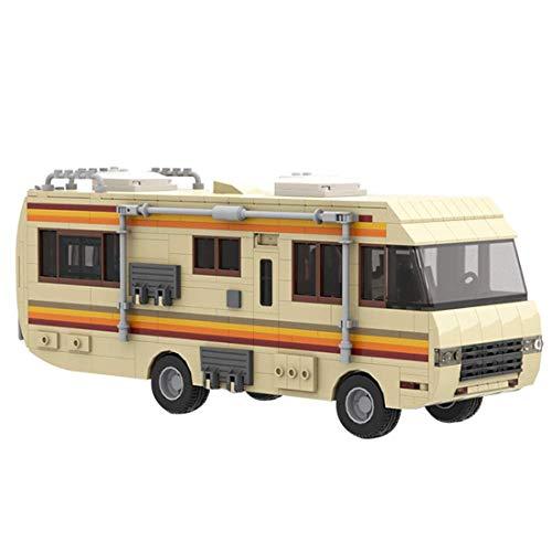 Breaking Bad Narcóticos RV Coche Modelo 648PCS Moc Bloques de construcción Modelo de autobús Modelo de Juguete Festival de Regalo Compatible con Lego