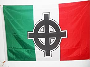 BANDERINA ITALIANA FASCISTA BANDERA de ITALIA MUSSOLINI 45x30cm RSI 30 x 45