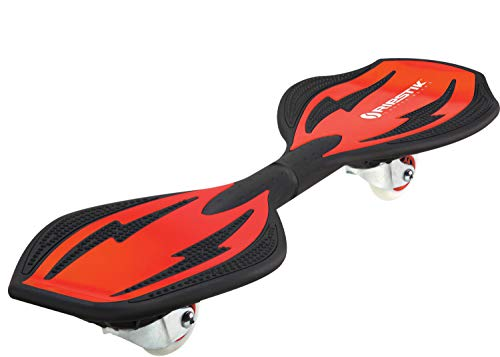 Razor Ripstik Ripster with Rubber Padded Steel Torsion Bar (Red)