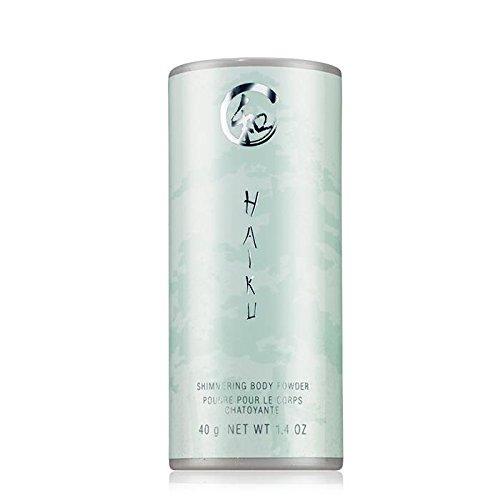 Avon Haiku shimmering Body Powder Talc 1.4 Oz