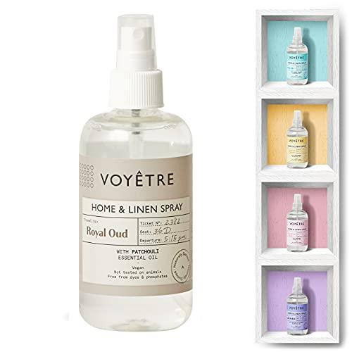 Voyetre Home und Linen Spray – Vegan, natürlich gewonnen, nicht an Tieren getestet, biologisch abbaubare Formel – 250 ml (Royal Oud)