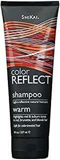 Shikai - Color Reflect Warm Shampoo, Reflects Red & Copper Tones and Intensifies Red Hair, Adds Weightless Body & Shine, Helps Protect & Extend Color Treated Hair (Unscented, 8 Ounces)