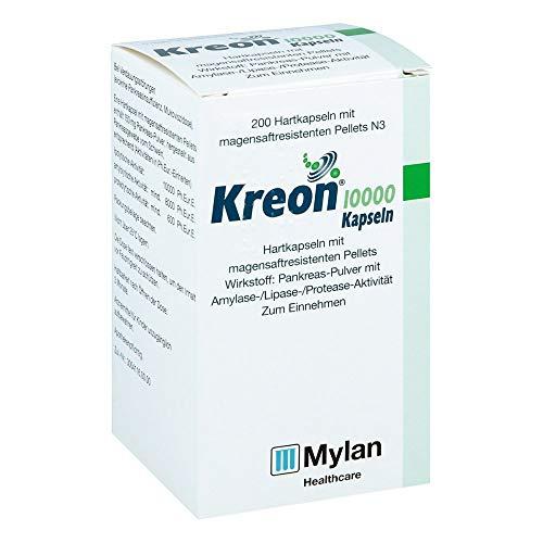 Kreon 10000 Kapseln bei Verdauungsstörungen, 200 St. Kapseln