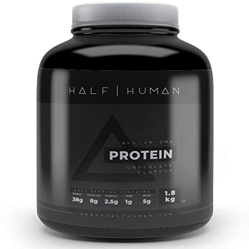 HALF HUMAN All-in-ONE Vegan Protein Powder Chocolate