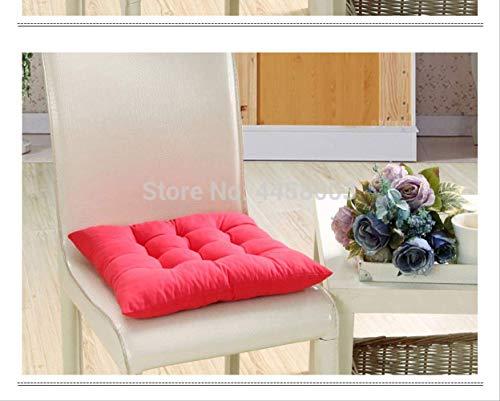 Nee gekleurd kussen, zacht, comfortabel, bureaustoel, zitting, kussen. 45x45cm Roze