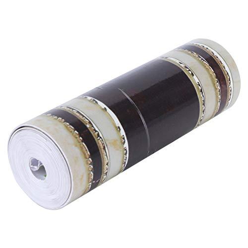 Papel pintado, adhesivo de pared Adhesivo de PVC Fuerte en capas Calcomanías de pared Efecto tridimensional con patrones decorativos para adhesivo de pared