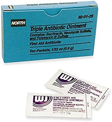 North by Honeywell 020125 Triple Antibiotic Ointment Unitized Refill foil Packet 0 product image