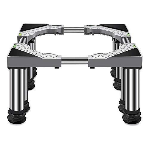 ZHUANYIYI Base Lavatrice, Base Mobile per impieghi gravosi, Supporto portafrigeratore, Supporto Universale per mobili telescopici, Larghezza Regolabile 45-65 cm (Dimensione : 29-32cm)