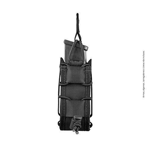 Porta Carregador para Pistola Invictus Reload Pistol - Preto - Fast Mag