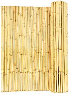Backyard X-Scapes Natural Rolled Bamboo Fence .75in D x 6ft H x 8ft L