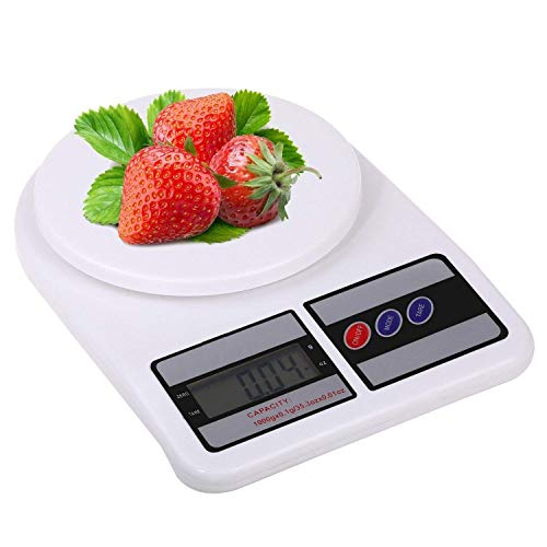 Simxen Electronic Digital 10 Kg Weight Scale Kitchen Weight...